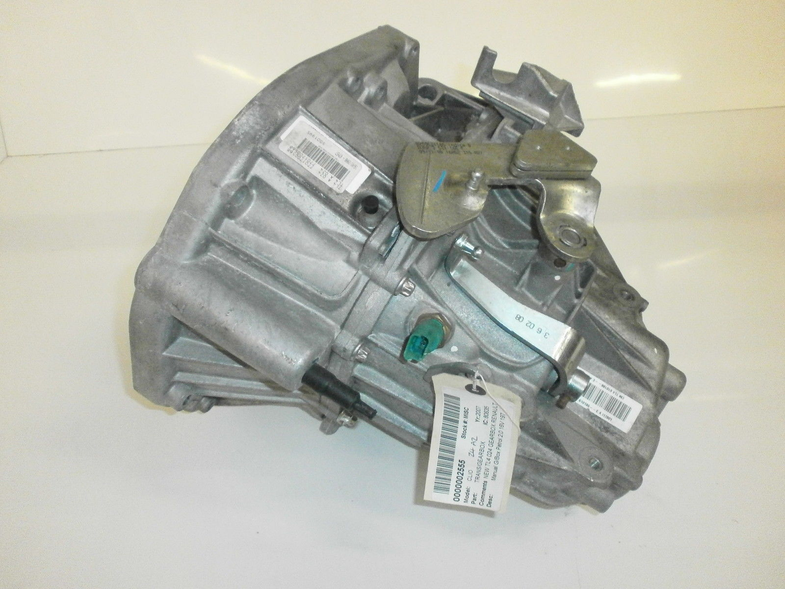Reconditioned Renault Clio Sport Rs V Gearbox Tl Tl P on Kia Parts Diagram